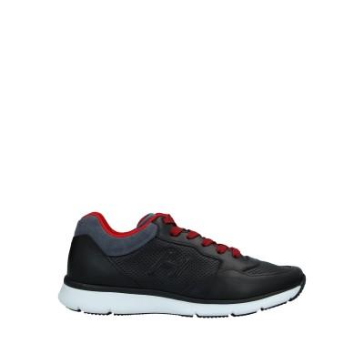 ホーガン HOGAN スニーカー&テニスシューズ(ローカット) ブラック 8 革 スニーカー&テニスシューズ(ローカット)