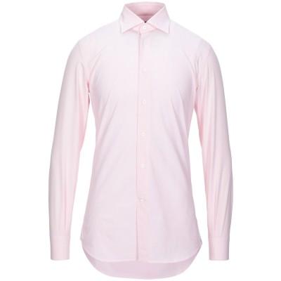 ガブリエレ パジーニ GABRIELE PASINI シャツ ライトピンク 39 コットン 100% シャツ