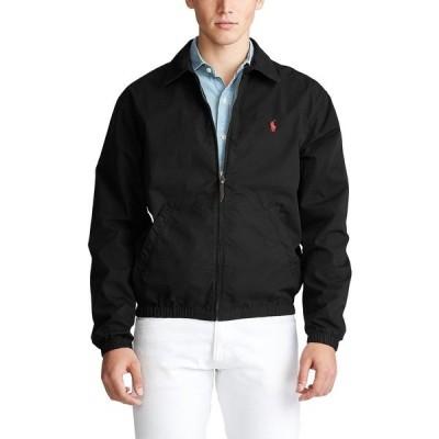 ラルフローレン ジャケット&ブルゾン アウター メンズ Men's Bayport  Windbreaker, Created for Macy's Polo Black