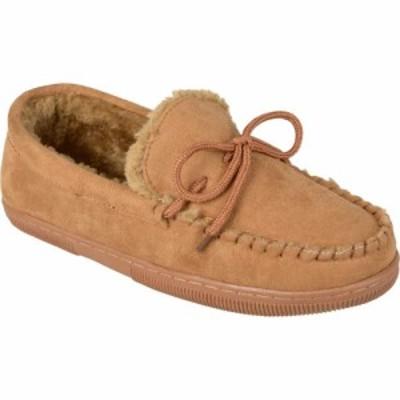 バンス Vance Co. メンズ スリッパ モカシン シューズ・靴 Moccasin Slipper Hickory Faux Suede