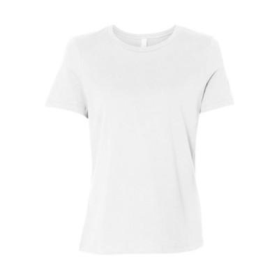レディース 衣類 トップス Bella + Canvas T-Shirts Women's Relaxed Short Sleeve Jersey Tee 6400 Tシャツ