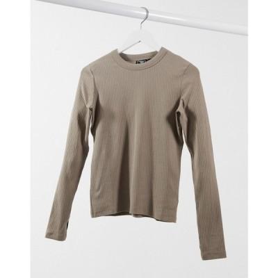 ヒュンメル Hummel レディース 長袖Tシャツ トップス Long Sleeve T-Shirt In Brown