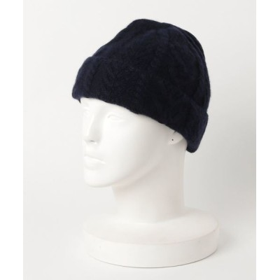 general design store / PURE CASHMERE CABLE KNITCAP MEN 帽子 > ニットキャップ/ビーニー