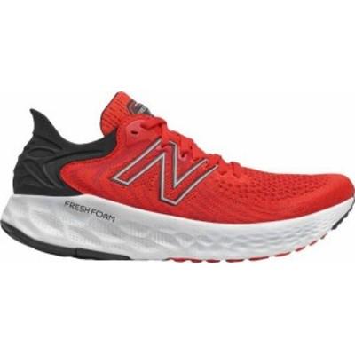 ニューバランス メンズ スニーカー シューズ New Balance Men's Fresh Foam 1080 V11 Running Shoes Red/Red