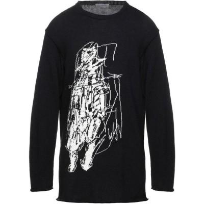 ヨウジヤマモト YOHJI YAMAMOTO メンズ ニット・セーター トップス Sweater Black