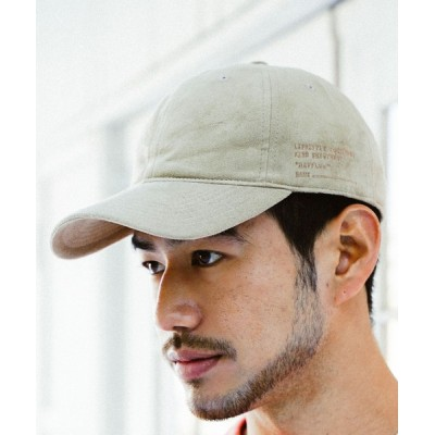 BAYFLOW / フェイクスエードミリタリーキャップ MEN 帽子 > キャップ
