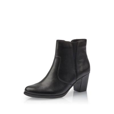 リーカー レディース ブーツ&レインブーツ シューズ Yvonne Leather Boot BLACK