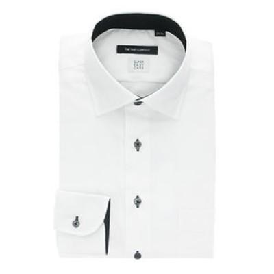 【SUPER EASY CARE・再生繊維】ワイドカラードレスシャツ 〔EC・BASIC〕