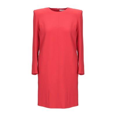 ジバンシィ GIVENCHY ミニワンピース&ドレス レッド 36 レーヨン 58% / アセテート 42% ミニワンピース&ドレス