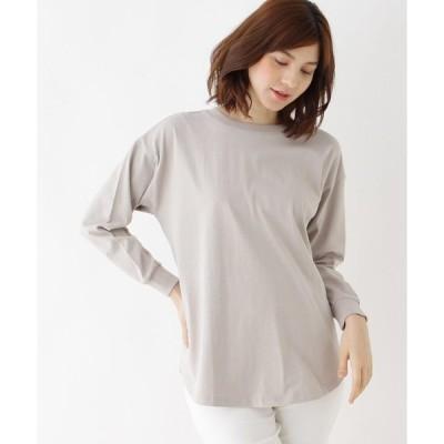 tシャツ Tシャツ 【M-LL】USAコットンセミロングカットソー