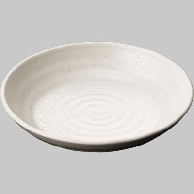 国際化工 20.5cm丸深皿 粉引 D259 KOH 1セット(5ヶ) (直送品)