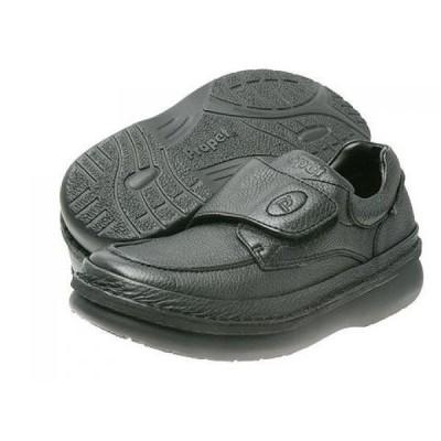 プロペット Propet メンズ 革靴・ビジネスシューズ シューズ・靴 Scandia Strap Black Grain