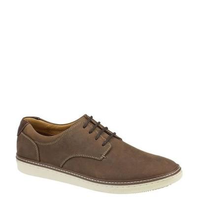ジョンストンアンドマーフィー メンズ スニーカー シューズ Men's McGuffey Plain Toe Shoes Tan