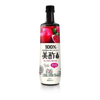 ◆CJジャパン 美酢(ミチョ) ざくろ 900ml ※発送まで11日以上