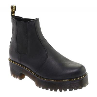 ドクターマーチン Dr. Martens レディース ブーツ チェルシーブーツ シューズ・靴 Rometty Chelsea Boot Black Wyoming Leather