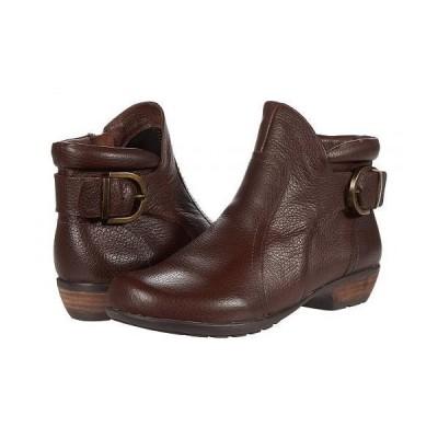 Walking Cradles ウォーキングクレイドル レディース 女性用 シューズ 靴 ブーツ アンクル ショートブーツ Ender - Brown Tumbled Leather