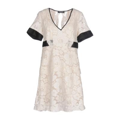 ツインセット シモーナ バルビエリ TWINSET ミニワンピース&ドレス ホワイト 46 61% コットン 28% ナイロン 11% レーヨン シ