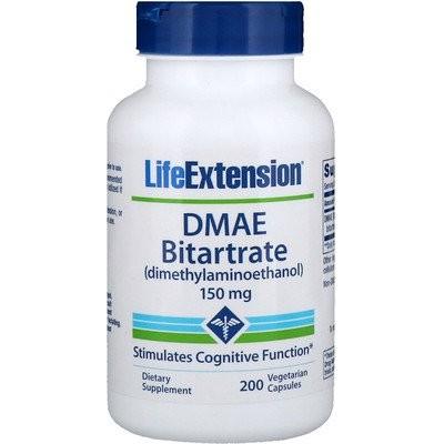 DMAE 酸性酒石酸塩、 150 mg、ベジキャップ200 錠