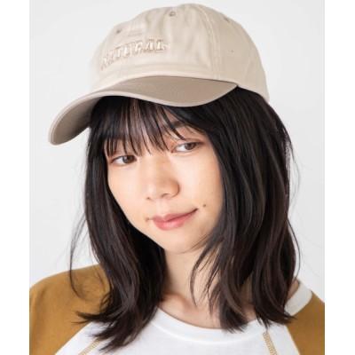 WEGO / WEGO/配色パネルロゴキャップ WOMEN 帽子 > キャップ
