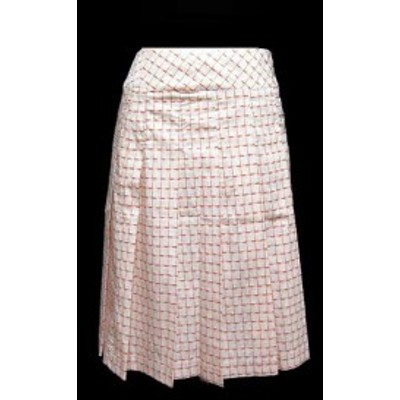 The Way of Chic Ray BEAMS「1」フェミニンプリーツスカート (Feminine pleated skirt) レイ ビームス 053627【中古】
