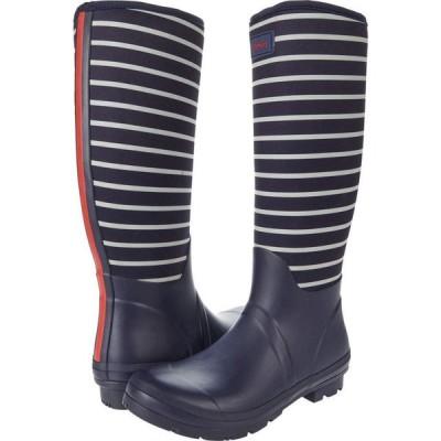 ジュールズ Joules レディース シューズ・靴 Neoprene Printed Welly French Navy Stripe