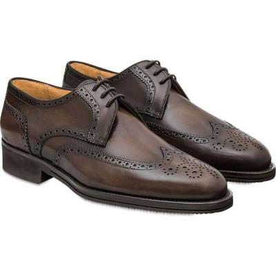 パーカーソン Pakerson メンズ 革靴・ビジネスシューズ ダービーシューズ シューズ・靴 Coffee Pisa Derby Shoe Dark Brown