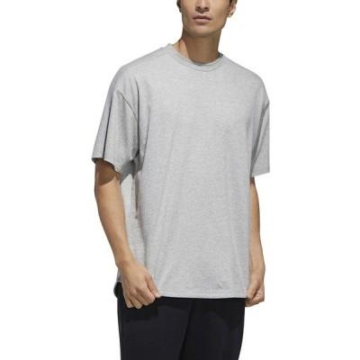 adidas アディダス M MH S/S Tシャツ GUO17 FM5386 メンズスポーツウェア 半袖シャツ メンズ ミディアムグレーヘザー セール