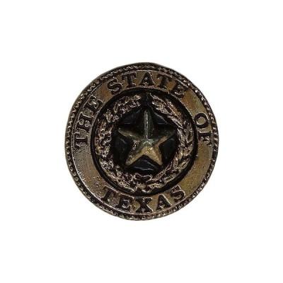 TEXAS ピンズ テキサス州 ラペルピン ピンバッチ ピンバッジ 留め具付き