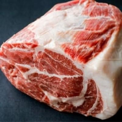 豪快!黒豚ブロック肉3kg「肩ロース」