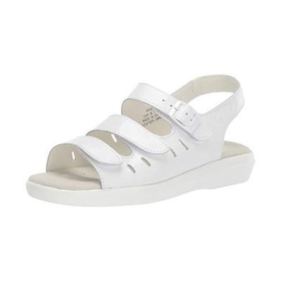 Prop?t womens Breeze Walker Sandal, White, 6.5 US