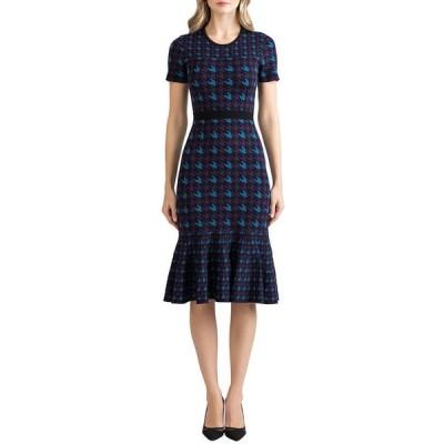 ショシャーナ レディース ワンピース トップス Percy Houndstooth Knit Dress