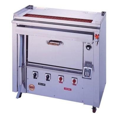 ヒゴグリラー 電気式焼物器(グリラー) オーブン付きタイプ 幅1000×奥行550×高さ950(mm) GOX-135
