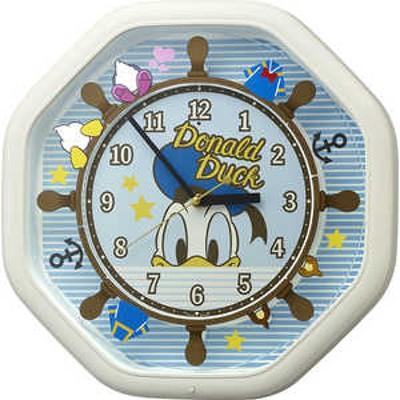 リズム時計 からくり時計 【カラクリトケイM441/ドナルドダック】 4MH441MC03