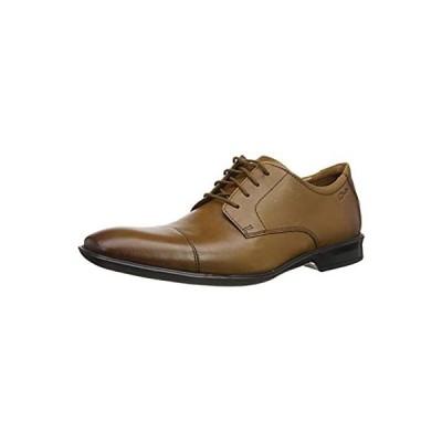 [クラークス] ビジネスシューズ 革靴 ベンスリーキャップ 本革 メンズ ダークタンレザー 28 cm