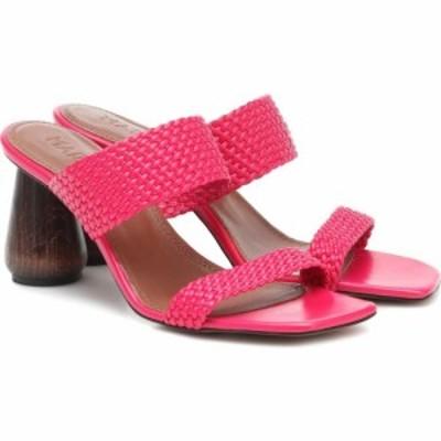 スリアーズ マルティネス Souliers Martinez レディース サンダル・ミュール シューズ・靴 Exclusive to Mytheresa - Limon 80 leather s