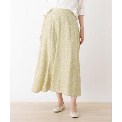 SHOO・LA・RUE/DRESKIP(シューラルー/ドレスキップ) 花柄ゴアードスカート