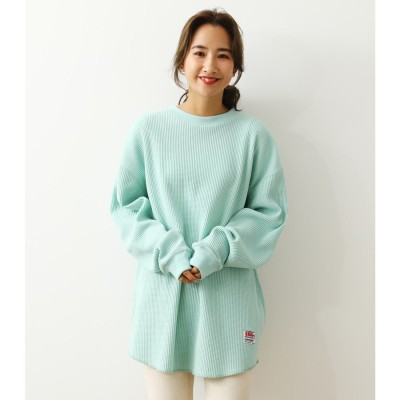 SHARE WAFFLE L/S Tシャツ MINT