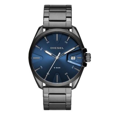DIESEL ディーゼル メンズ 男性 MS9 44ミリ ネイビー ガンメタル ステンレス DZ1908 あすつく 腕時計