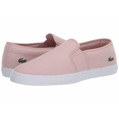 ラコステ スニーカー シューズ レディース Tatayla 120 1 P Light Pink/White