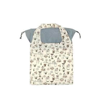【バックヤードファミリー】 スヌーピー ムーミン 底板付きエコバッグ ユニセックス その他系2 底板付きエコバッグ BACKYARD FAMILY