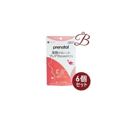 【×6個】ファイン 葉酸がはいったプレママのためのサプリ 90粒 (30日分)