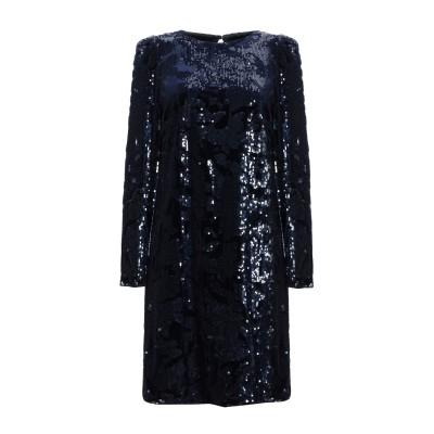 CLIPS ミニワンピース&ドレス ダークブルー 40 ポリエステル 96% / ポリウレタン 4% ミニワンピース&ドレス