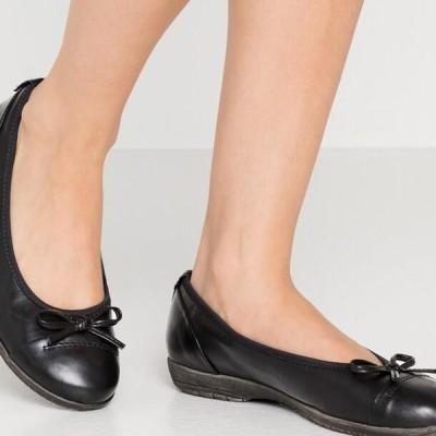 ジャナ レディース 靴 シューズ Ballet pumps - black