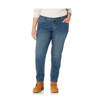 海外取寄品--Carhartt レディース オリジナルフィット ブレインジーンズ レギュラーおよびプラスサイズ US サイズ: 12 Short カラー: ブルー