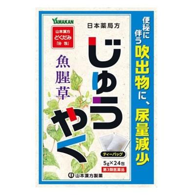 【第3類医薬品】 山本漢方 じゅうやく 5g×24包