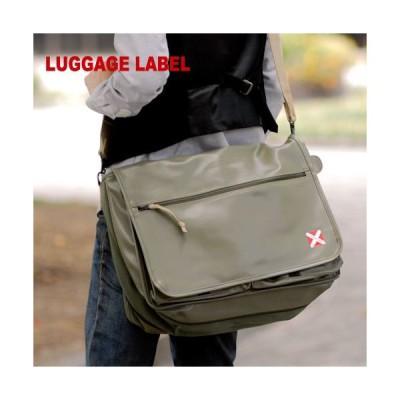 吉田カバン 吉田かばん ショルダー バッグ LUGGAGE LABEL ラゲッジレーベル LUGGAGE LABEL ライナー LINER 951-09235 メンズ 人気 ギフト 通勤 出張 母の日