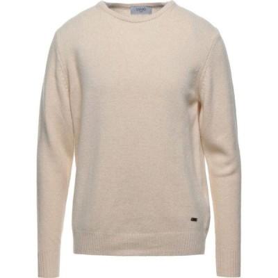 リウジョー LIU JO MAN メンズ ニット・セーター トップス Sweater Ivory