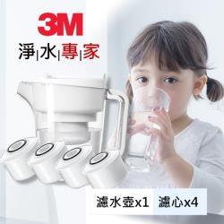 3M 即淨長效濾水壺 WP3000(1壺+4濾心)