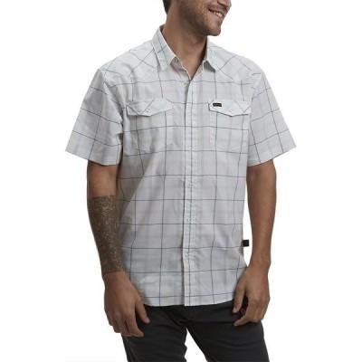 ハウラーブラザーズ シャツ メンズ トップス H Bar B Tech Shirt - Men's Portella Plaid Eggshell