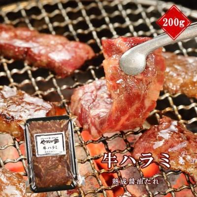 旨みたっぷり牛ハラミ【熟成醤油だれ】200g(K2-004)